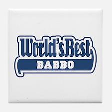 WB Dad [Italian] Tile Coaster