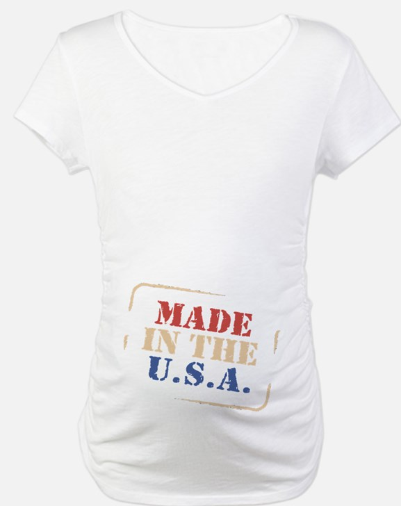 100% American Red White and B Shirt