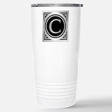 Deco Monogram C Travel Mug
