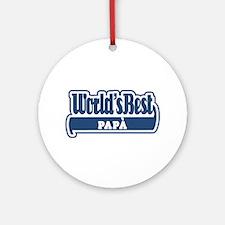 WB Dad [Italian] Ornament (Round)