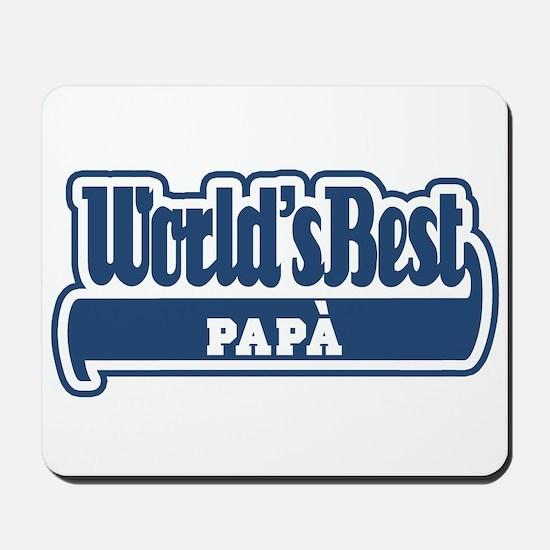 WB Dad [Italian] Mousepad