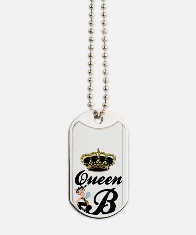 Queen B iPhone Case Dog Tags