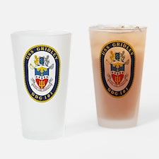 DDG 101 USS Gridley Drinking Glass