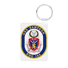 DDG 102 USS Sampson Keychains