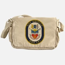 DDG 101 USS Gridley Messenger Bag