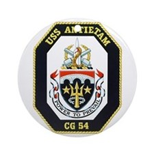Uss Antietam Cg-54 Ornament (round)