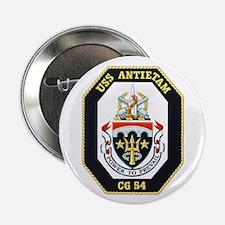 "Uss Antietam Cg-54 2.25"" Button"