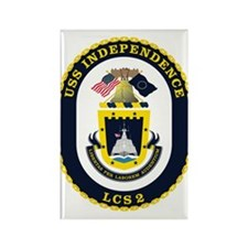 Uss Independence Lcs-2 Magnets