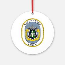 Uss Jackson Lcs-6 Ornament (round)