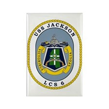 USS Jackson LCS-6 Magnets