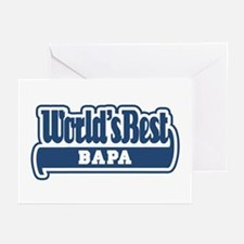 WB Dad [Indonesian] Greeting Cards (Pk of 10)