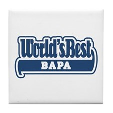 WB Dad [Indonesian] Tile Coaster