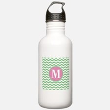 Any Letter, Pink and G Water Bottle