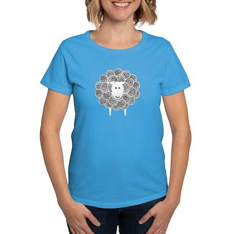 Yarny Sheep Women's Dark T-Shirt