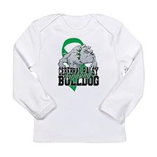 Cerebral Palsy Bulldog Long Sleeve Infant T-Shirt
