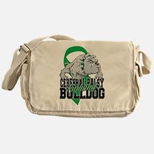 Cerebral Palsy Bulldog Messenger Bag