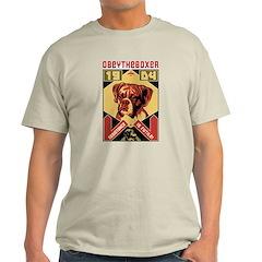 Boxer Rebellion! Ash Grey T-Shirt