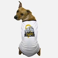 Childhood Cancer Bulldog Dog T-Shirt