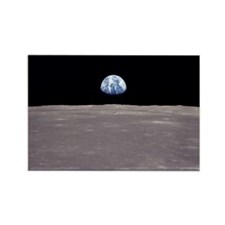 Earthrise from Apollo 11 Moon Landing Magnets