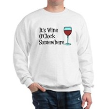 Wine OClock Somewhere Jumper