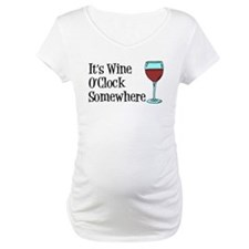 Wine OClock Somewhere Shirt