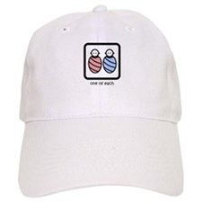 One of Each with Babies Baseball Cap