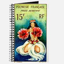 1964 French Polynesia Tahitian Dancer Stamp Journa