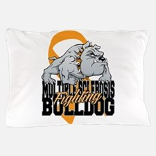 MS Fighting Bulldog Pillow Case