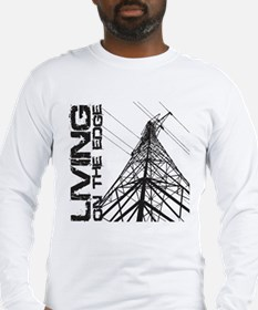 transmission tower edge 1 Long Sleeve T-Shirt