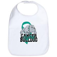 Ovarian Cancer Bulldog Bib