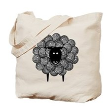 Yarny Sheep Tote Bag