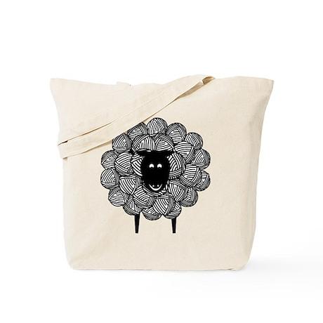 Yarny Sheep Tote Bag