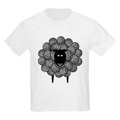 Yarny Sheep Kids Light T-Shirt