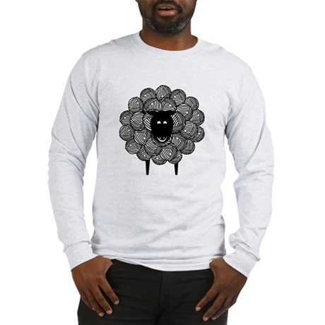 Yarny Sheep Long Sleeve T-Shirt
