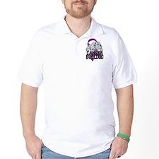 Pancreatic Cancer Bulldog T-Shirt