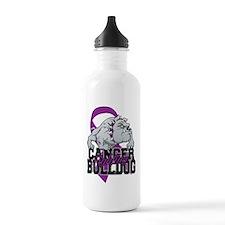 Pancreatic Cancer Bull Sports Water Bottle
