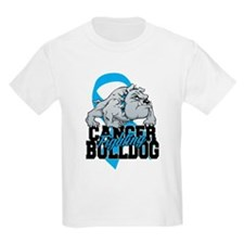 Prostate Cancer Bulldog T-Shirt