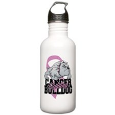 Testicular Cancer Bull Sports Water Bottle