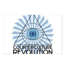 New 3rd Eye Shirt4 CCR Postcards (Package of 8)