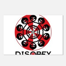 DISOBEY8 Postcards (Package of 8)