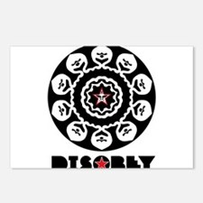 DISOBEY7 Postcards (Package of 8)