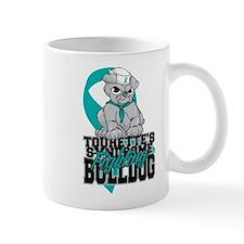 Tourette's Syndrome Bulldog Pup Mug