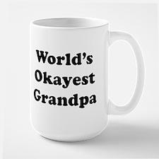World's Okayest Grandpa Mugs