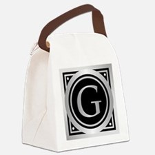 Deco Monogram G Canvas Lunch Bag