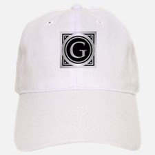 Deco Monogram G Baseball Baseball Baseball Cap