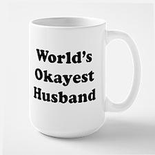 World's Okayest Husband Mugs