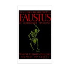 Federal Theatre Project's Faus Decal