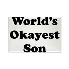 World's Okayest Son Magnets