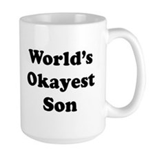 World's Okayest Son Mugs