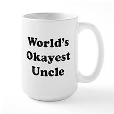 World's Okayest Uncle Mugs